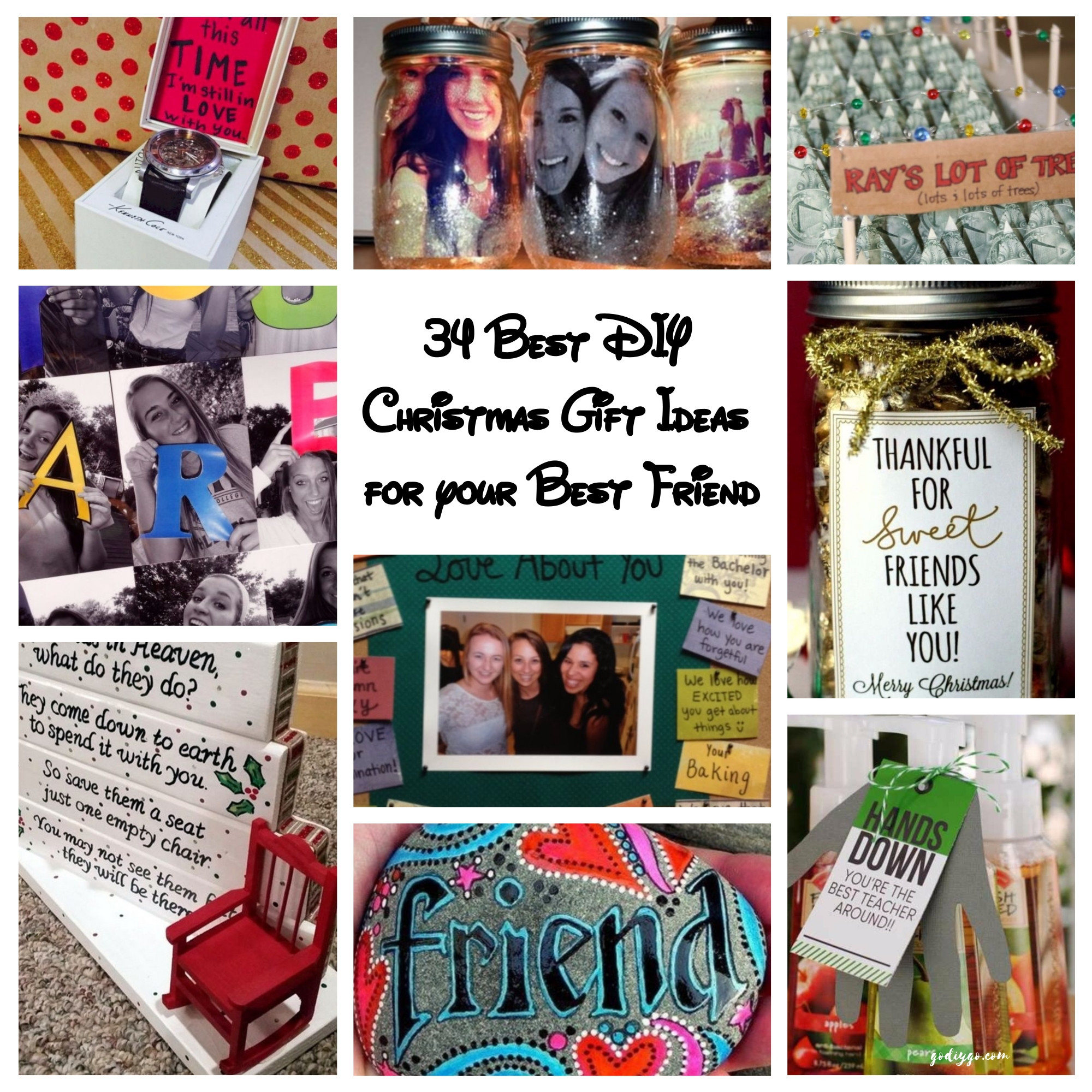 Best ideas about Christmas Gift Ideas For Your Best Friends . Save or Pin 34 Best DIY Christmas Gift Ideas for your Best Friend Now.