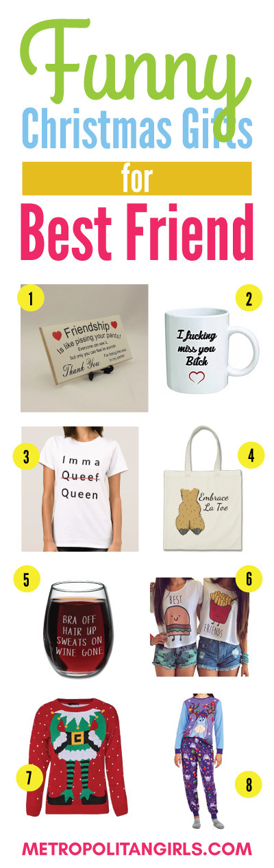 Best ideas about Christmas Gift Ideas For Your Best Friends . Save or Pin Christmas Gift Ideas for Best Friend 2018 Metropolitan Girls Now.