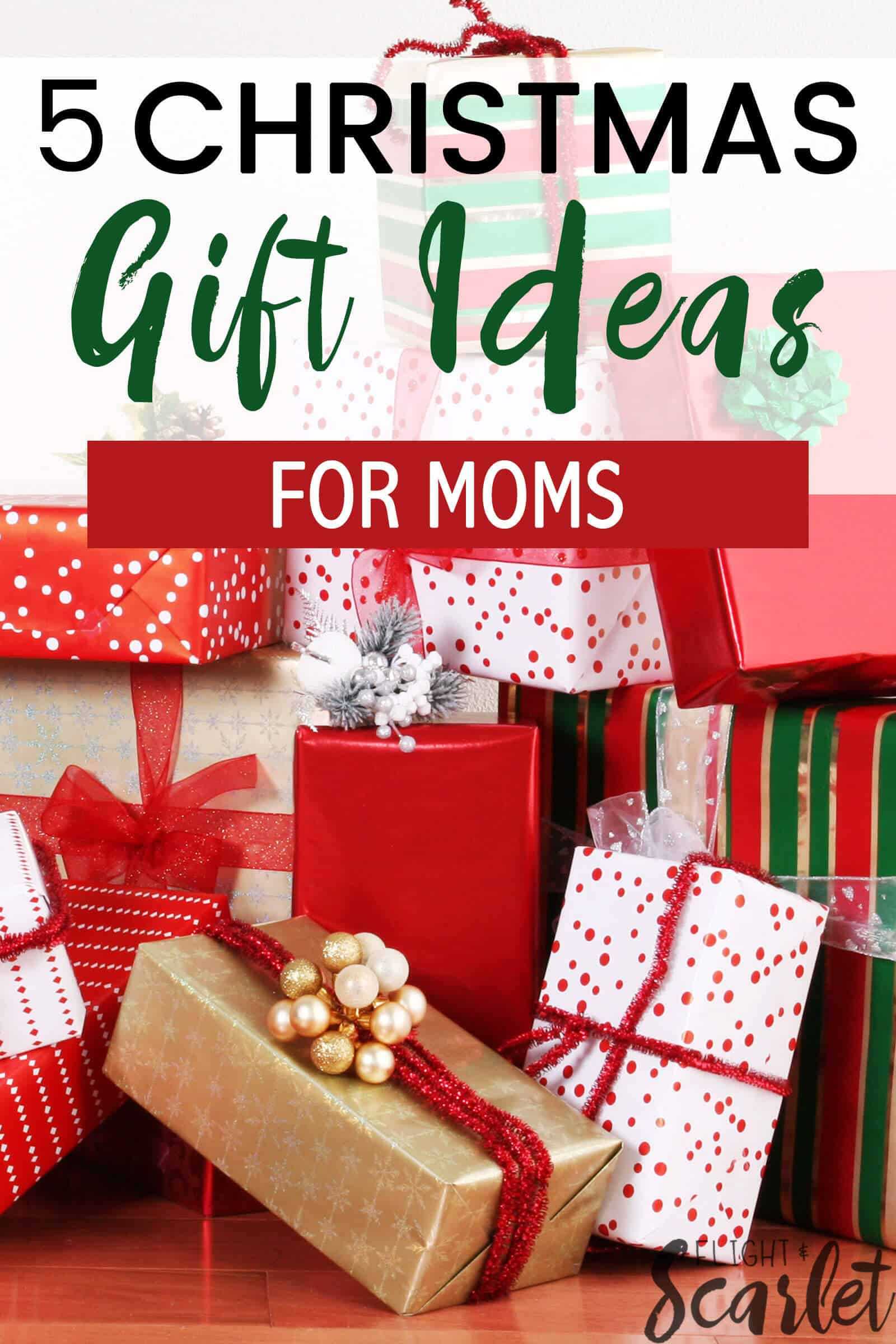 Best ideas about Christmas Gift Ideas Mom . Save or Pin 5 Bud Friendly Gift Ideas For Moms Flight & Scarlet Now.