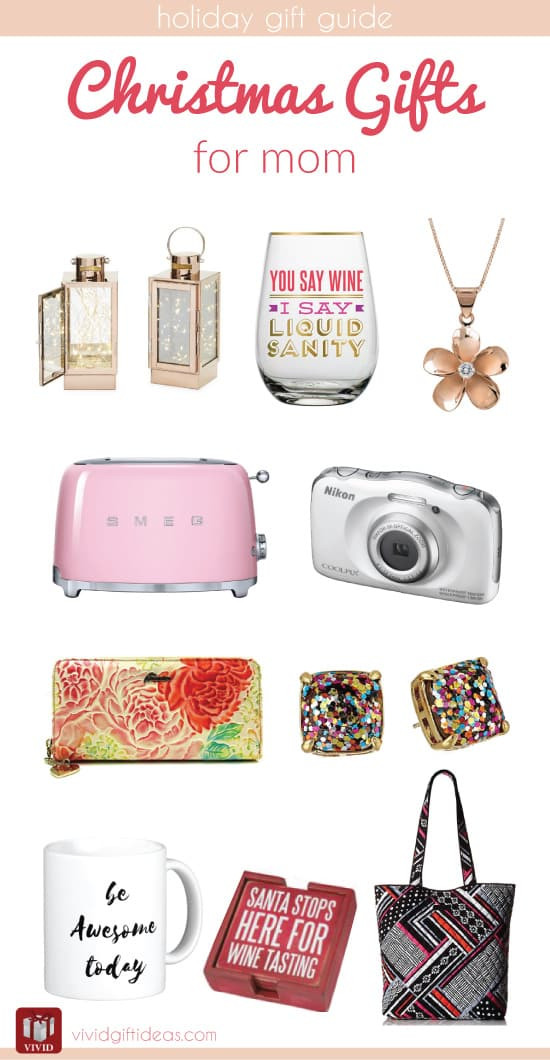 Best ideas about Christmas Gift Ideas Mom . Save or Pin Christmas Holiday Gift Guide for Mom Vivid s Gift Ideas Now.