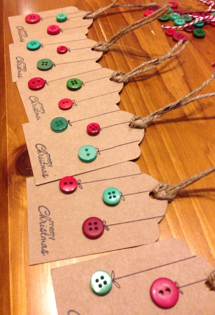 Best ideas about Christmas Gift Tags DIY . Save or Pin 25 DIY Christmas Ideas You Must Try In 2015 The Xerxes Now.