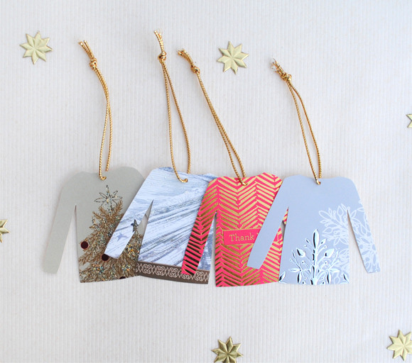 Best ideas about Christmas Gift Tags DIY . Save or Pin DIY Christmas Sweater Gift Tags Now.
