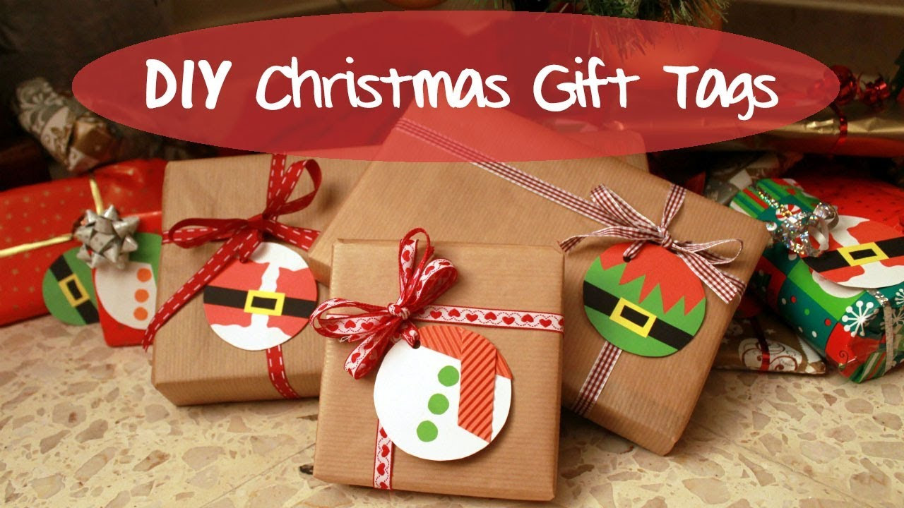 Best ideas about Christmas Gift Tags DIY . Save or Pin DIY Christmas Gift Tags Now.