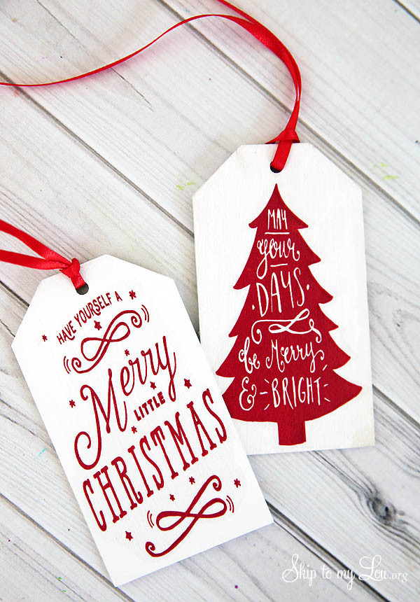 Best ideas about Christmas Gift Tags DIY . Save or Pin Free Printable Tags for DIY Wooden Gift Tags Now.