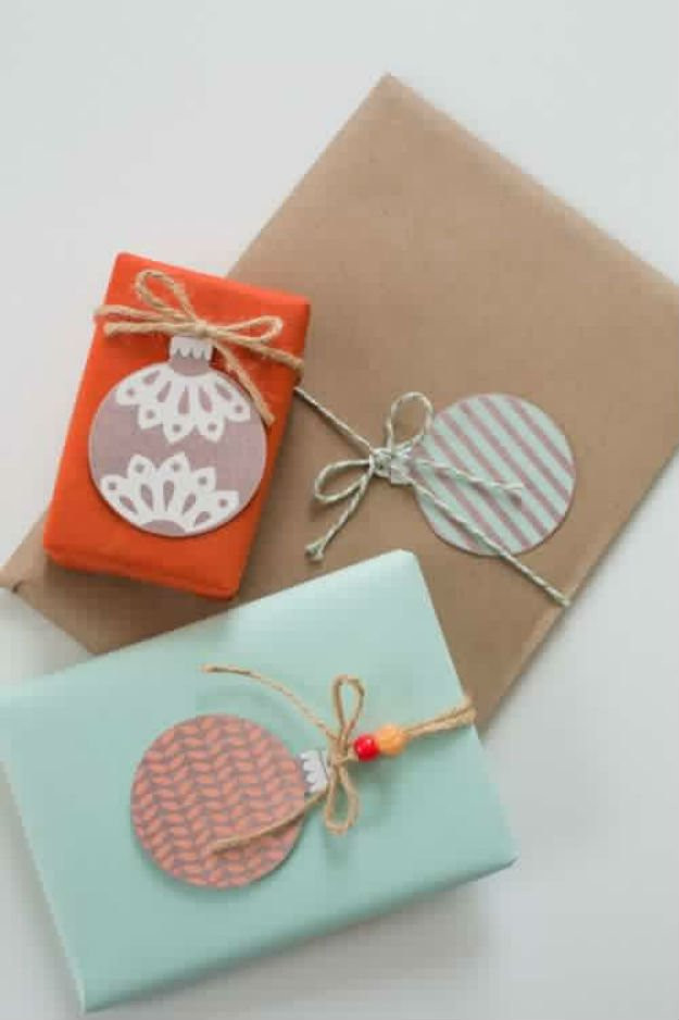 Best ideas about Christmas Gift Tags DIY . Save or Pin 22 Awesome DIY Gift Tags Now.