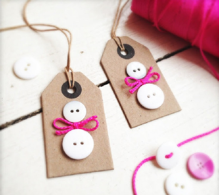 Best ideas about Christmas Gift Tags DIY . Save or Pin XMAS is ing DIY Ideas for Christmas on Flipboard by Now.