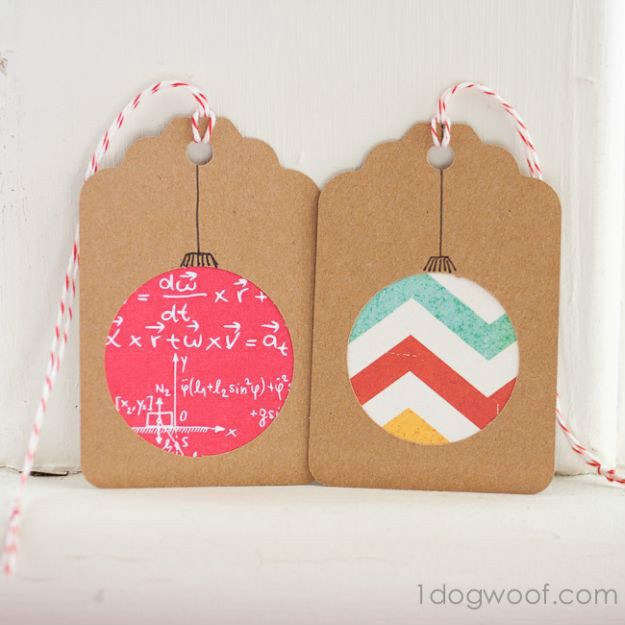 Best ideas about Christmas Gift Tags DIY . Save or Pin 22 Awesome DIY Christmas Gift Tags For The Gift Giving Holiday Now.