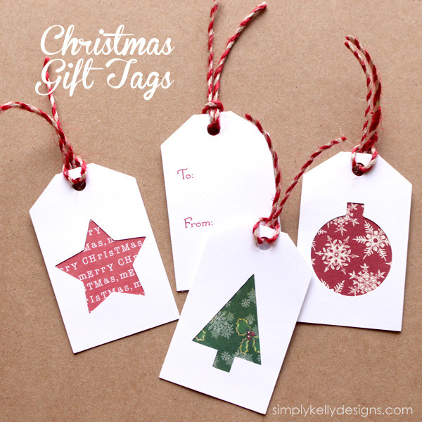 Best ideas about Christmas Gift Tags DIY . Save or Pin 34 Festive and Fun DIY Christmas Gift Tags Now.
