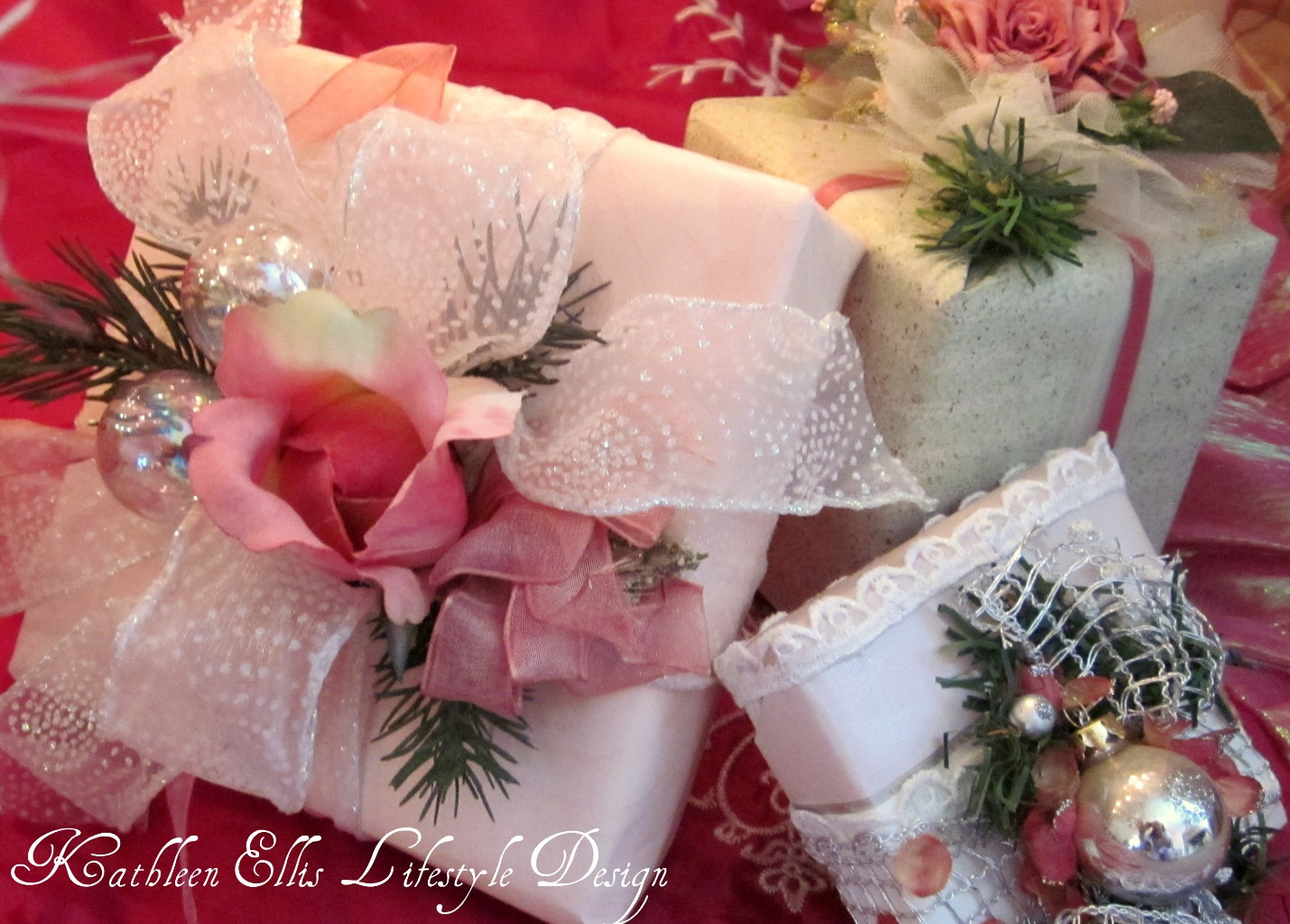 Best ideas about Christmas Gift Wrapping Ideas Elegant . Save or Pin Easy & Elegant t wrapping Presents with Presence Now.