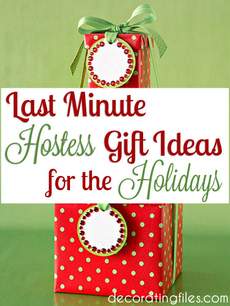 Best ideas about Christmas Hostess Gift Ideas . Save or Pin Last Minute Hostess Gift Ideas for the Holidays Now.