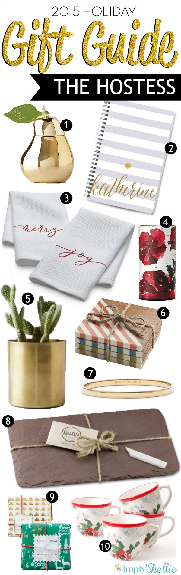Best ideas about Christmas Hostess Gift Ideas . Save or Pin Holiday Gift Guide Fabulous Hostess Gift Ideas Now.