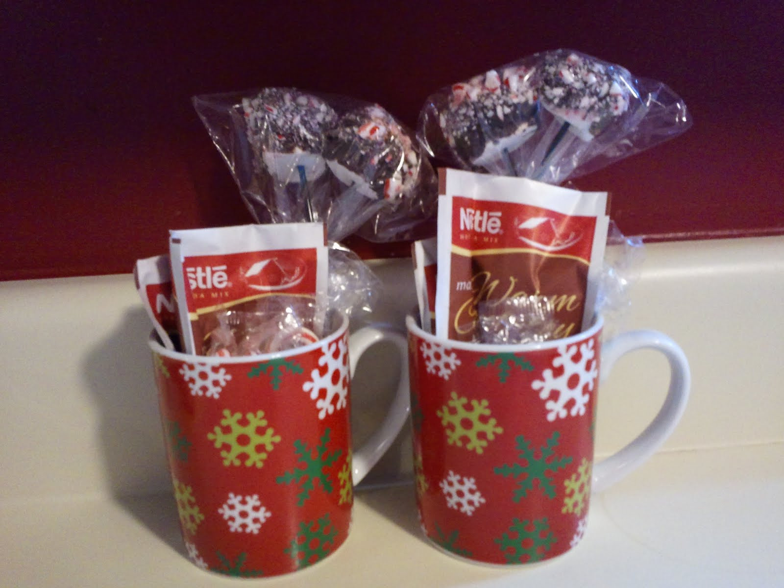 Best ideas about Christmas Mug Gift Ideas . Save or Pin Peppermint Hot Chocolate Stirrers Homemade Christmas Now.