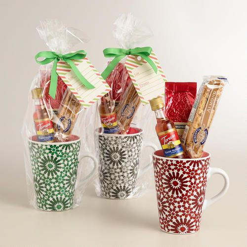 Best ideas about Christmas Mug Gift Ideas . Save or Pin World Market Holiday Blend Coffee Mug Gift Set Now.