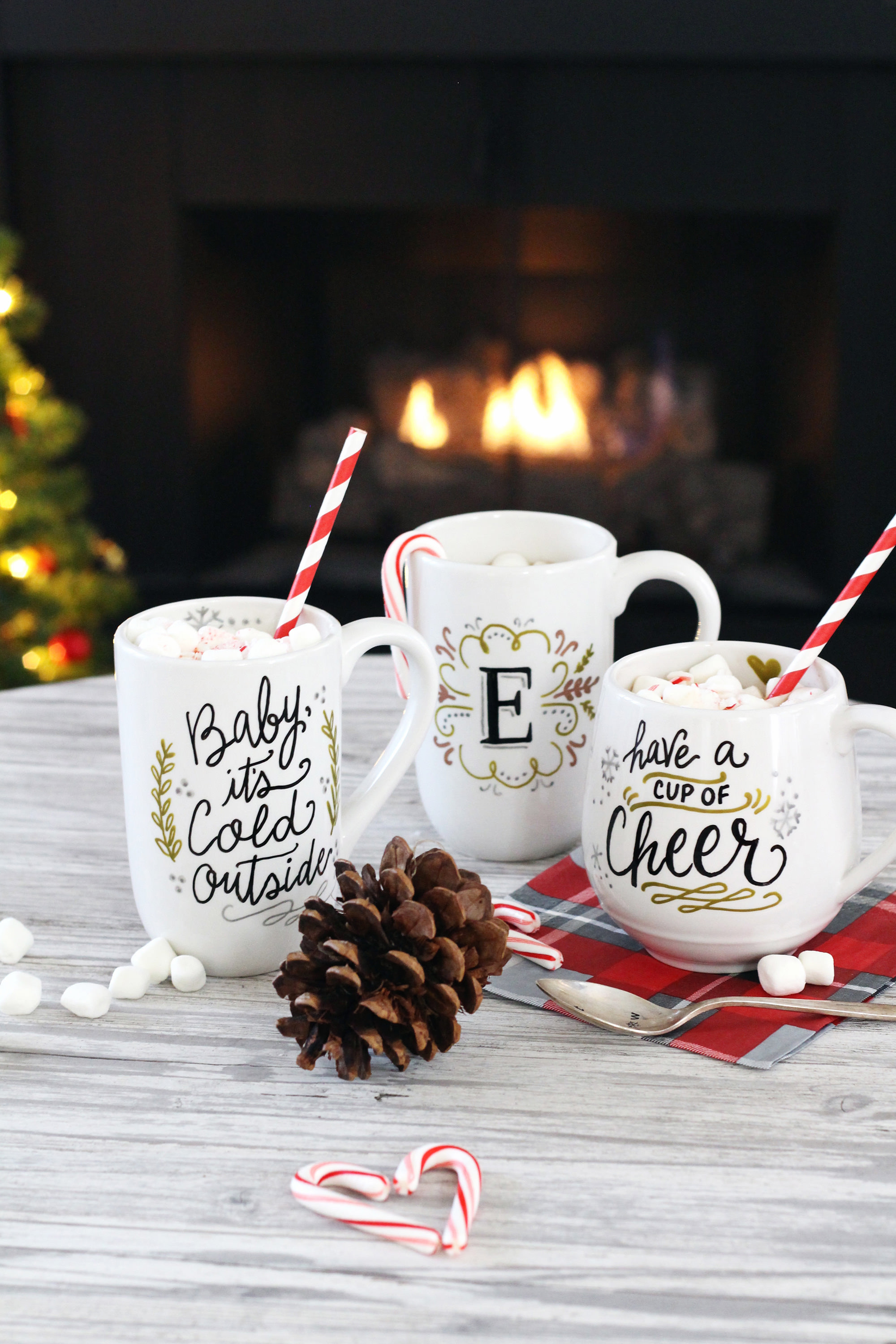 Best ideas about Christmas Mug Gift Ideas . Save or Pin DIY Mug Gifts Using PaintedByMe Bake At Home Ceramics Now.