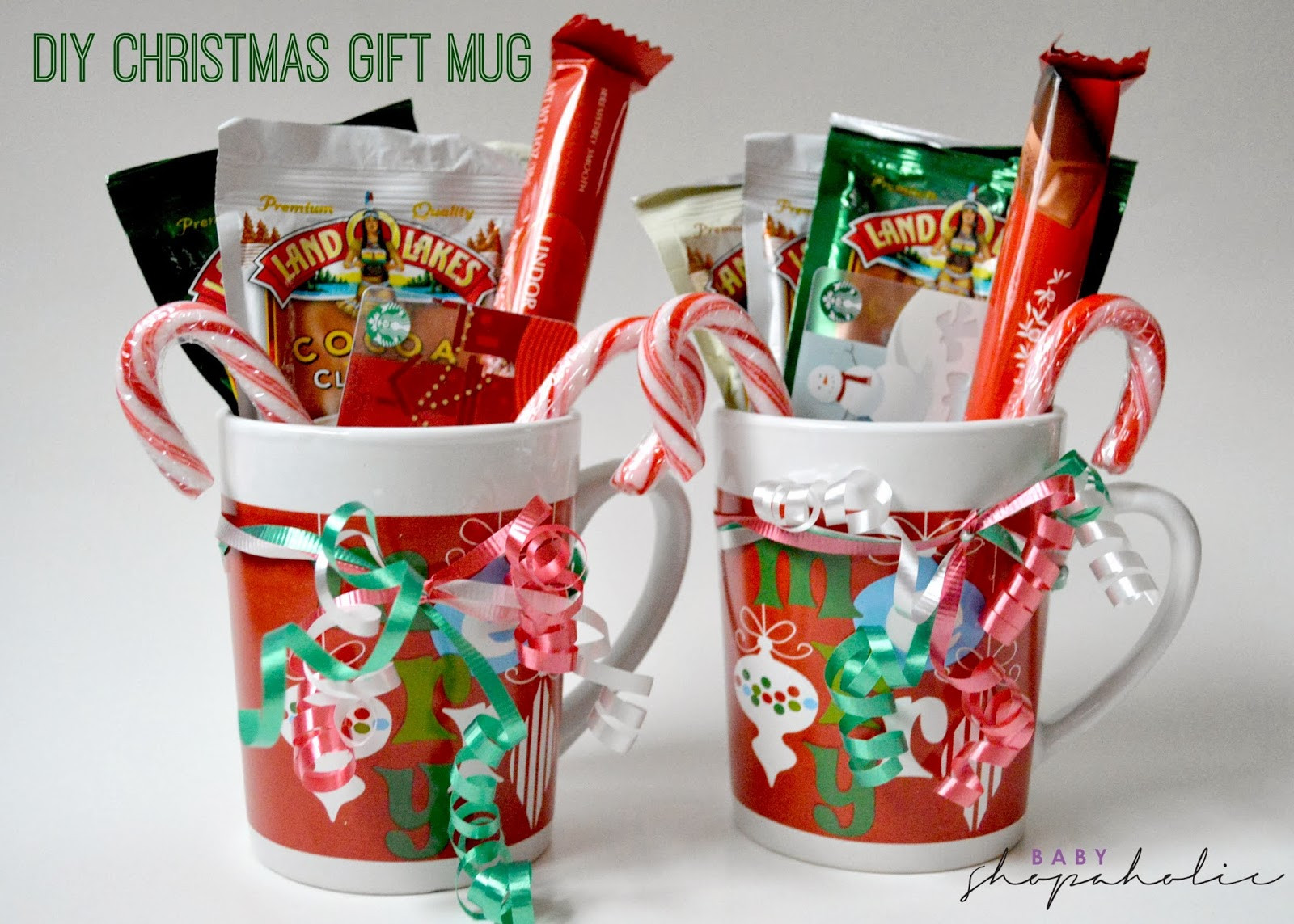 Best ideas about Christmas Mug Gift Ideas . Save or Pin Last Minute DIY Christmas Gift Baby Shopaholic Now.