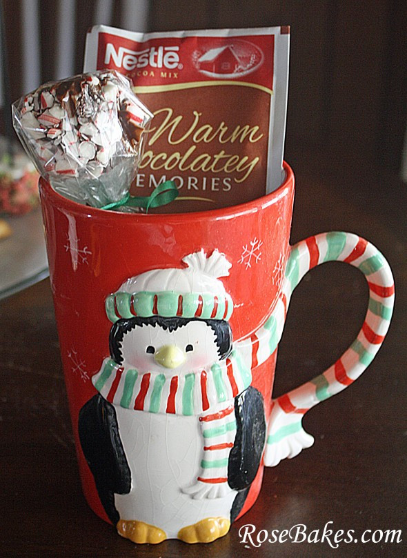 Best ideas about Christmas Mug Gift Ideas . Save or Pin Peppermint Marshmallow Dips for Hot Chocolate Great Gift Now.