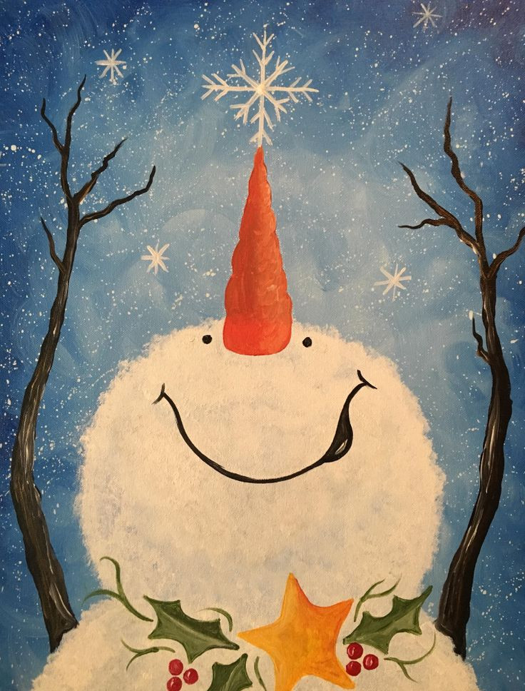 Best ideas about Christmas Painting Ideas . Save or Pin Best 25 Christmas canvas paintings ideas on Pinterest Now.