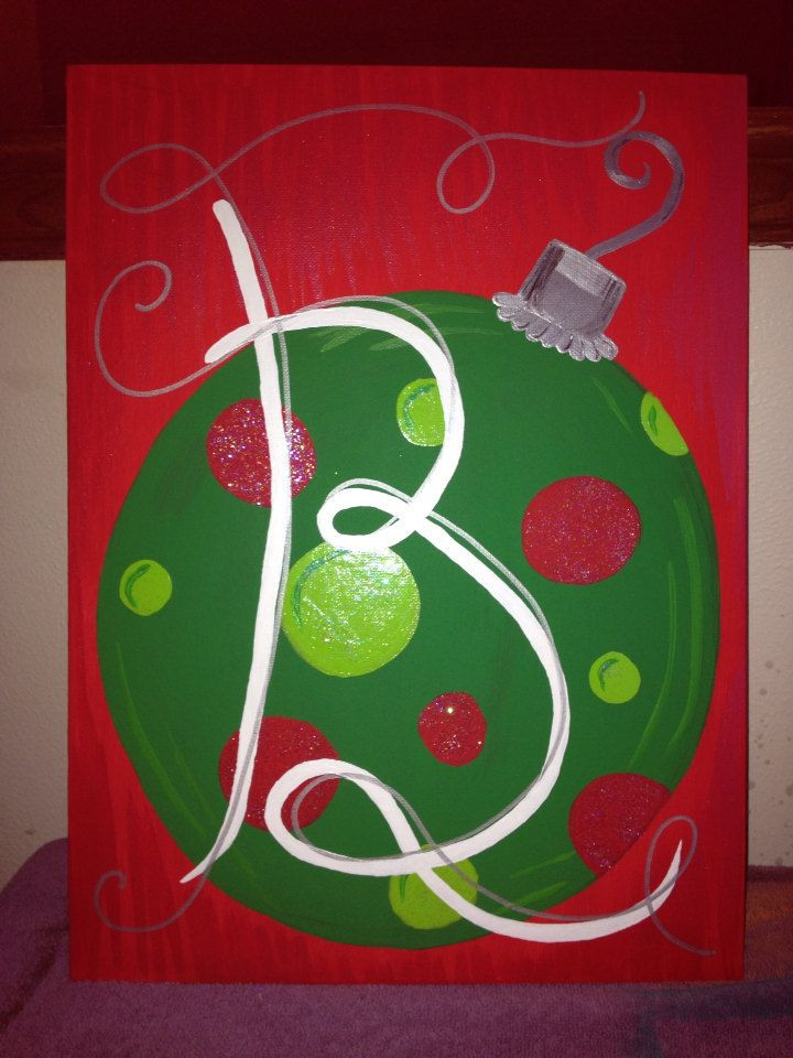 Best ideas about Christmas Painting Ideas . Save or Pin 10 best Painting images on Pinterest Now.