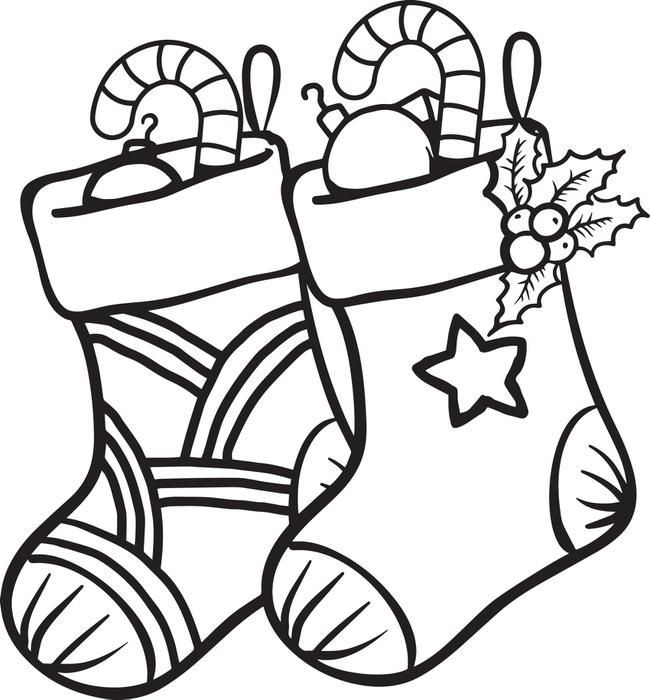Best ideas about Christmas Stocking Coloring Sheets For Kids . Save or Pin FREE Printable Christmas Stockings Coloring Page for Kids Now.