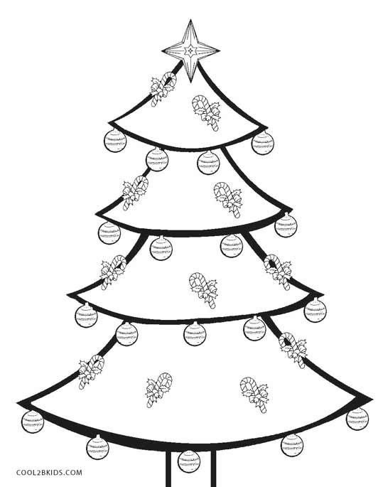 Best ideas about Christmas Tree Coloring Pages For Kids . Save or Pin Printable Christmas Tree Coloring Pages For Kids Now.