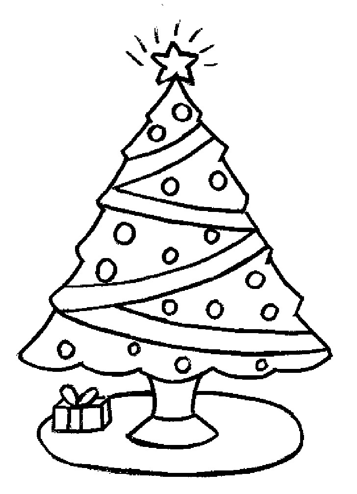 Best ideas about Christmas Tree Coloring Pages For Kids . Save or Pin Coloring Pages Christmas Trees Coloring Home Now.
