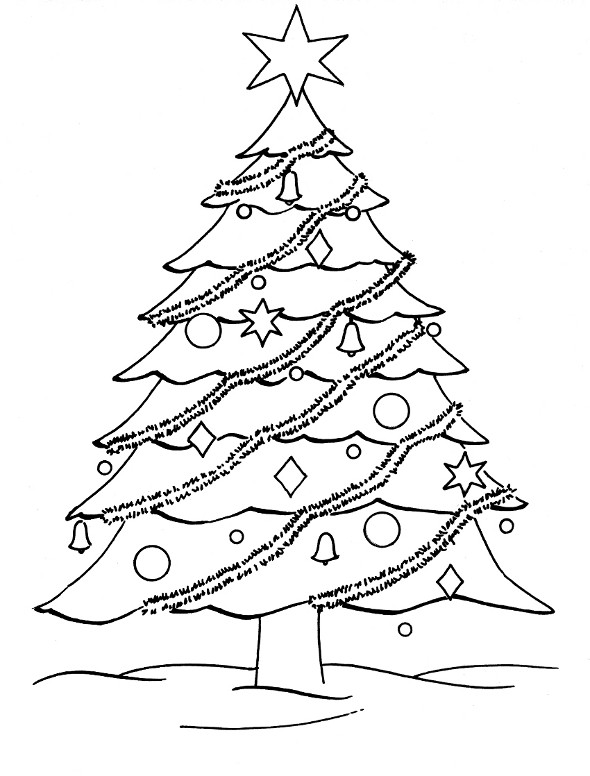 Best ideas about Christmas Tree Coloring Pages For Kids . Save or Pin Free Coloring Pages Christmas Tree Coloring Pages Now.