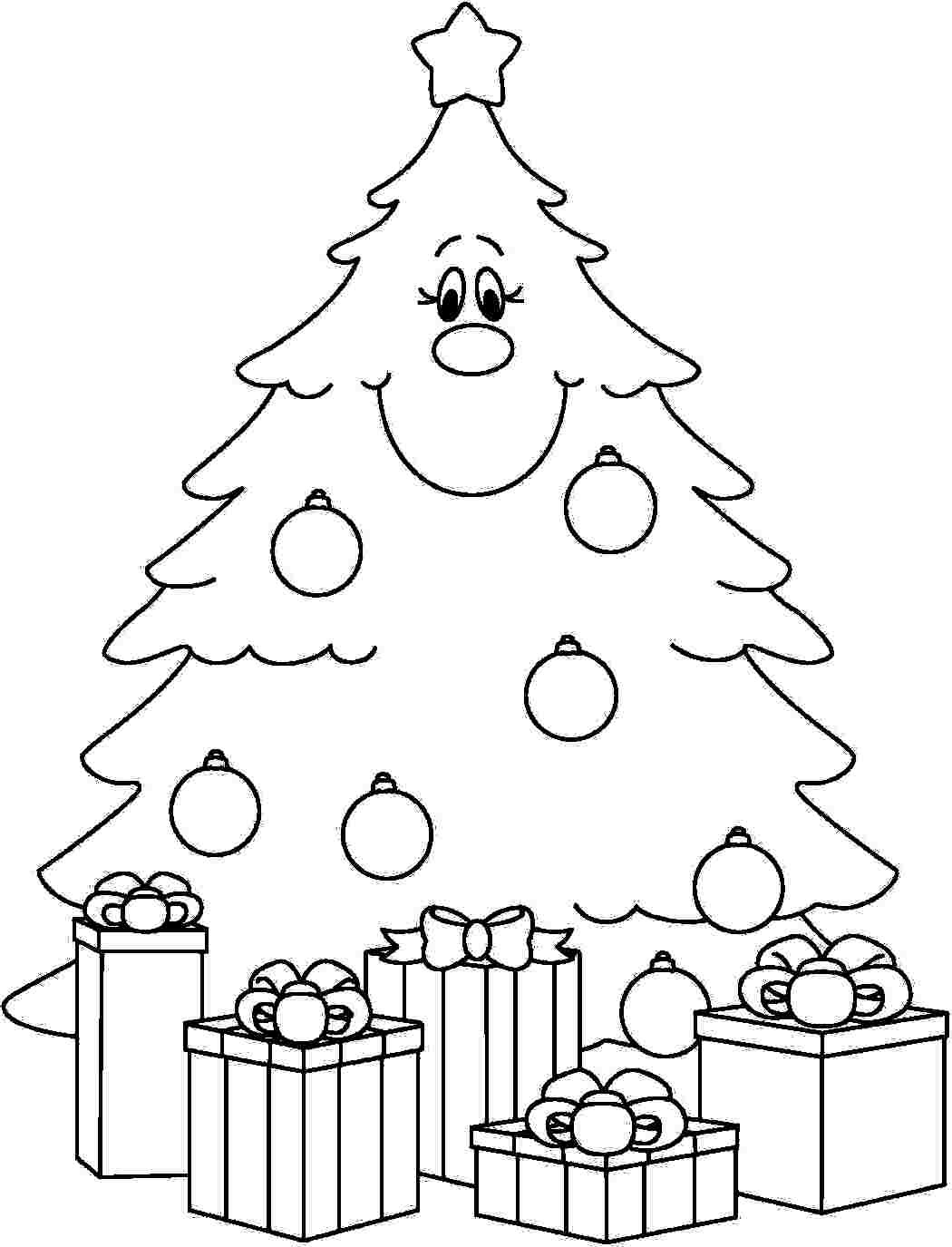 Best ideas about Christmas Tree Coloring Pages For Kids . Save or Pin Under the Christmas Tree EIT Digital Now.