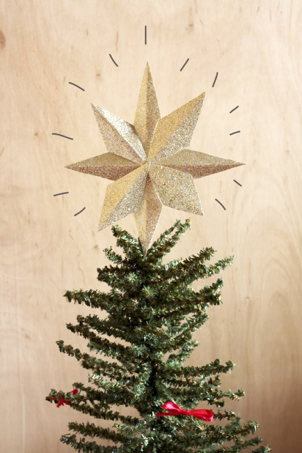 Best ideas about Christmas Tree Topper DIY . Save or Pin 6 DIY Christmas Tree Topper Projects thegoodstuff Now.
