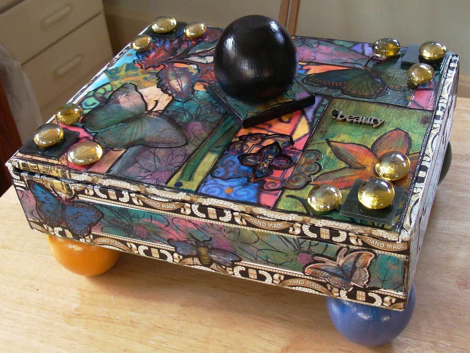 Best ideas about Cigar Box Craft Ideas . Save or Pin My Art Journal Fun With Cigar Boxes Now.
