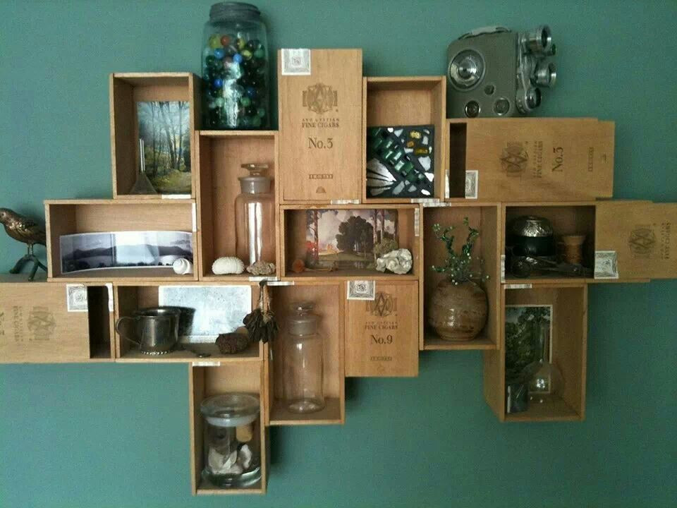 Best ideas about Cigar Box Craft Ideas . Save or Pin Cigar box shelves SO useful Pinterest Now.