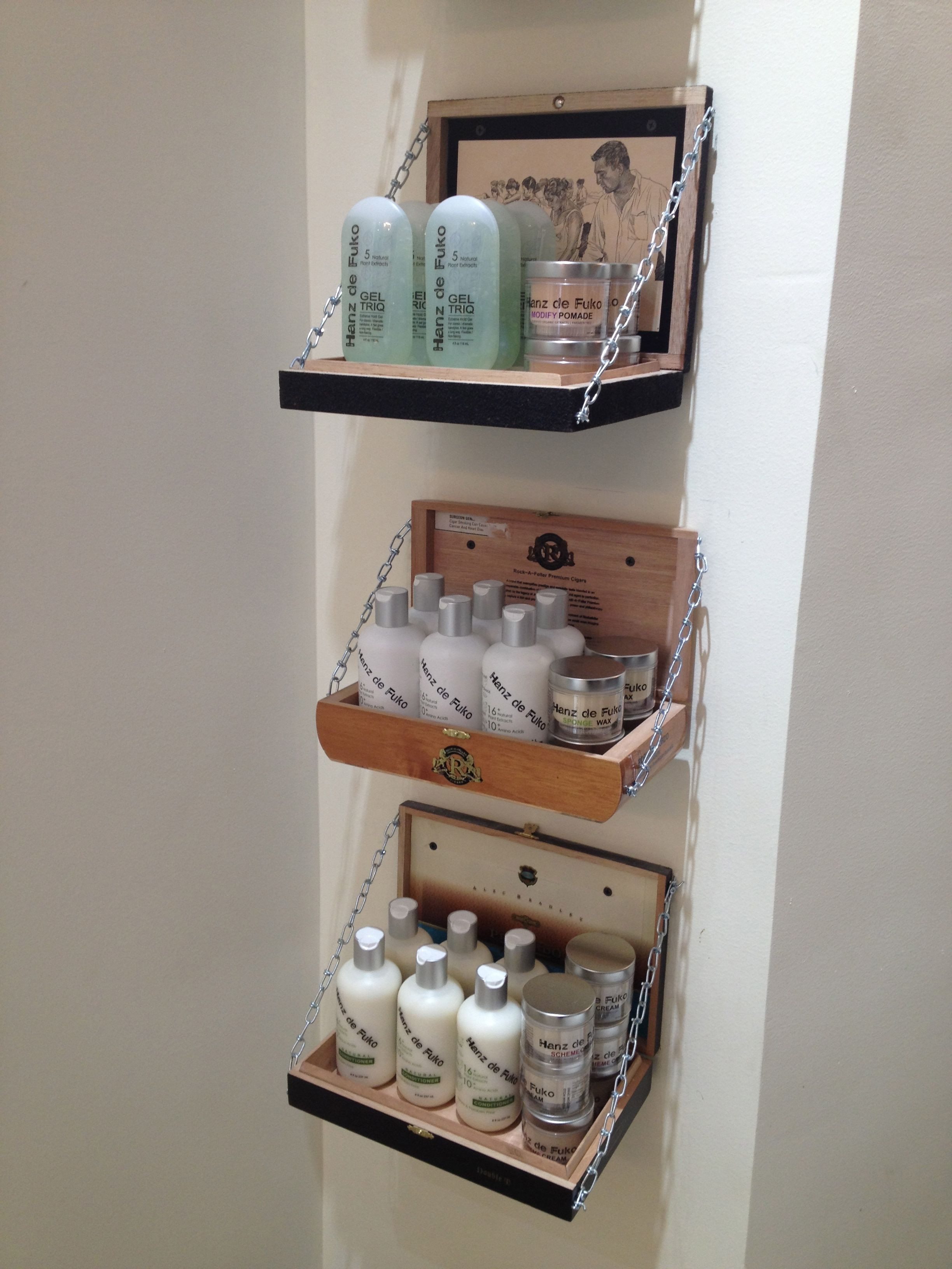 Best ideas about Cigar Box Craft Ideas . Save or Pin Salon Eco Chic we use old cigar boxes for our hairstyling Now.