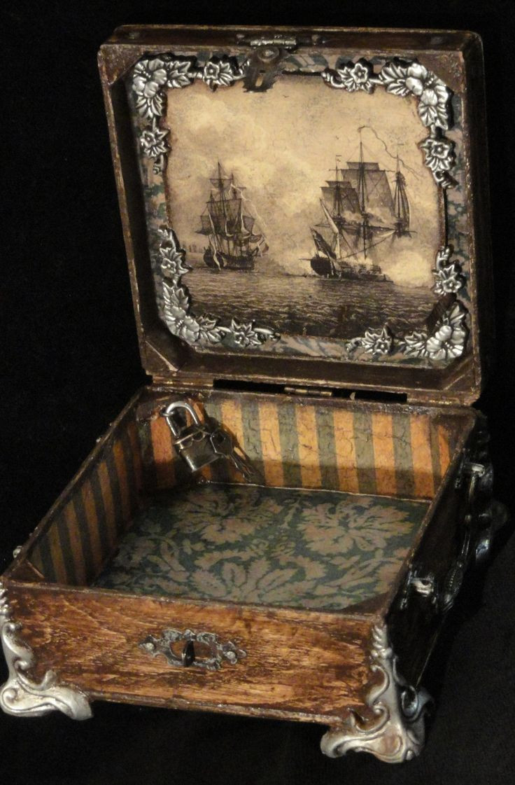 Best ideas about Cigar Box Craft Ideas . Save or Pin 25 best Altered Boxes ideas on Pinterest Now.