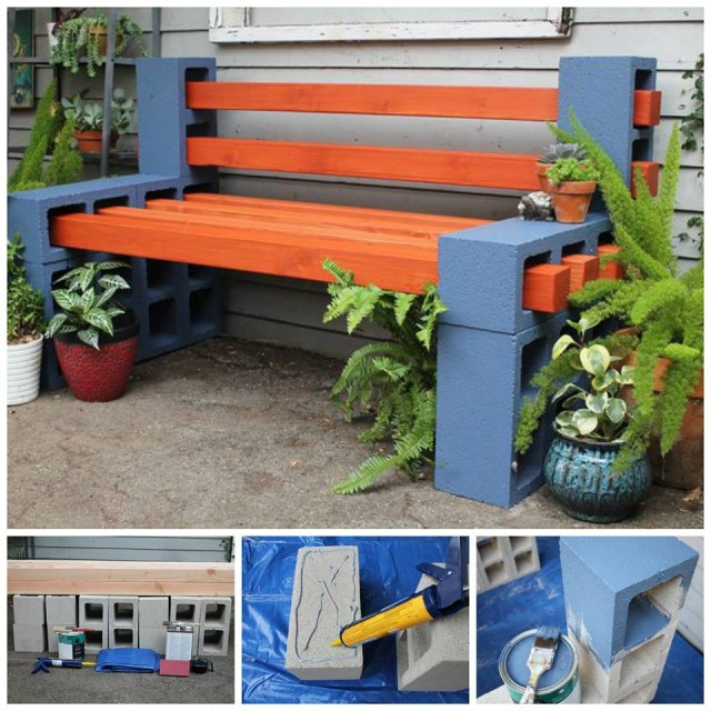Best ideas about Cinder Block Bench DIY . Save or Pin 10 Creative Ideas to Decorate with Concrete Blocks Now.