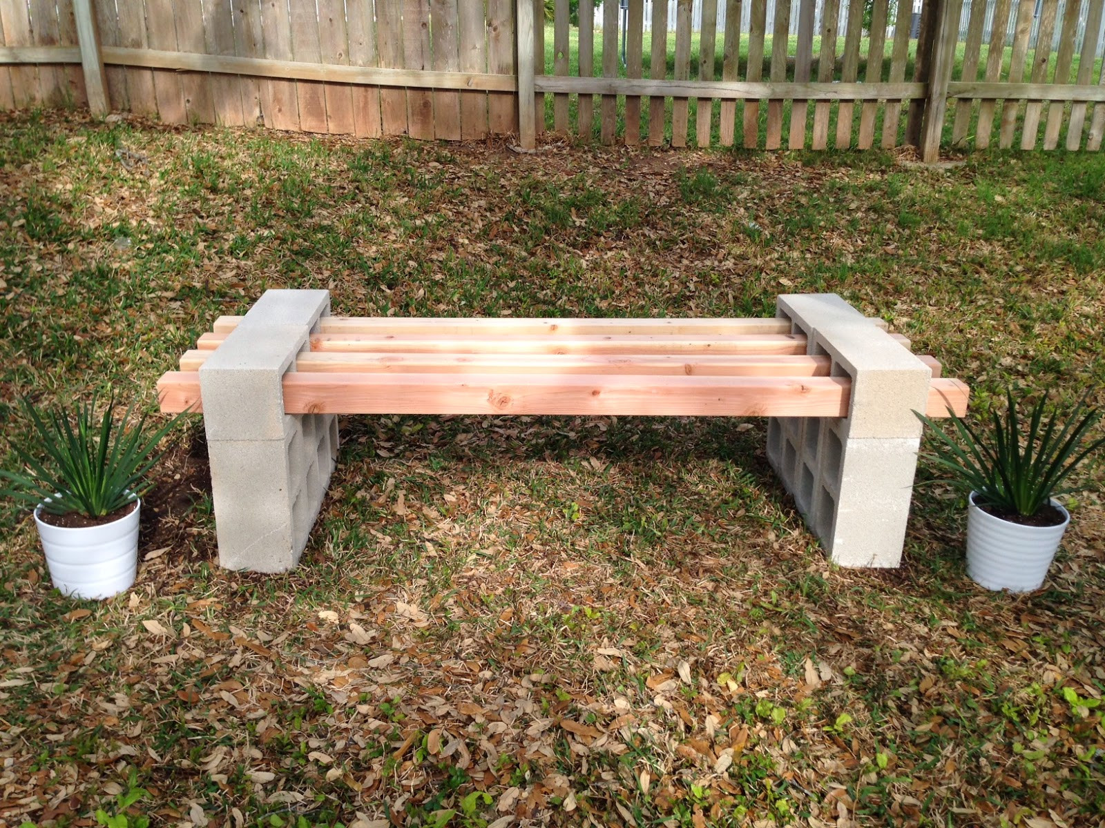 Best ideas about Cinder Block Bench DIY . Save or Pin Fab Everyday Now.