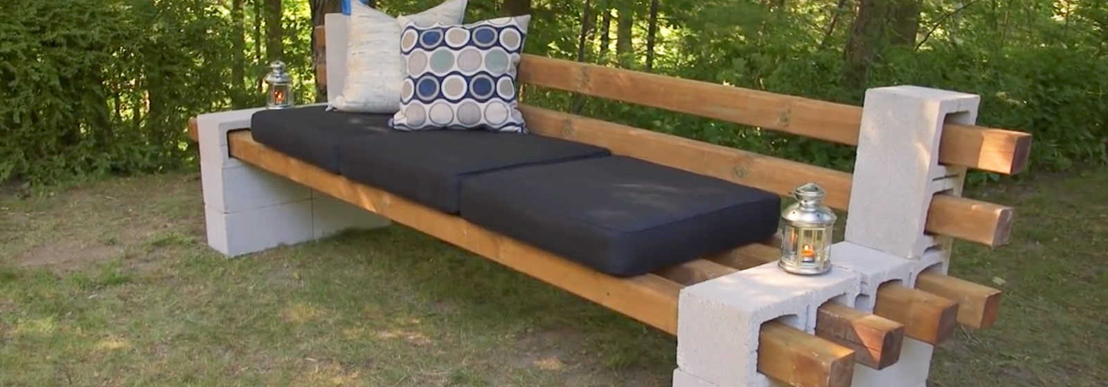 Best ideas about Cinder Block Bench DIY . Save or Pin DIY Cinder Block Bench Summer simplified belairdirect Now.