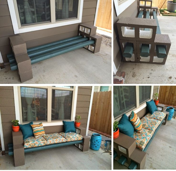 Best ideas about Cinder Block Bench DIY . Save or Pin DIY Cinder Block Bench Now.