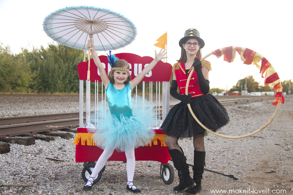 Best ideas about Circus Costumes DIY . Save or Pin DIY CIRCUS Themed Costumes l 5 KIDS plus a VIDEO Now.