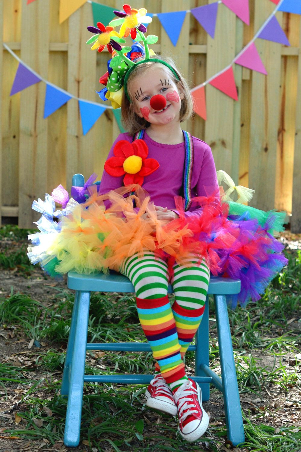 Best ideas about Circus Costumes DIY . Save or Pin Atutudes Circus Clown Rainbow Pettitutu by atutudes on Now.