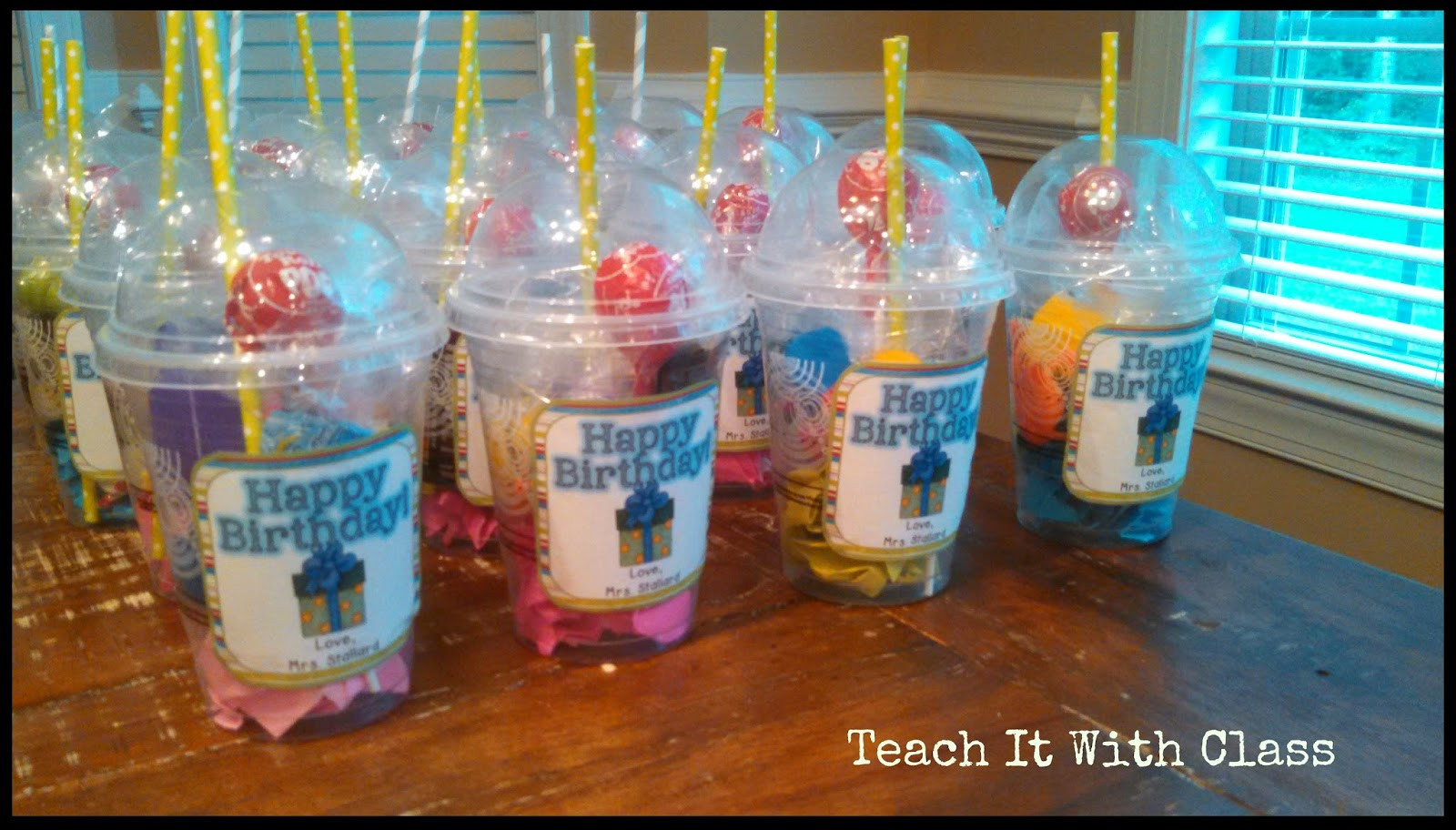 Best ideas about Class Gift Ideas . Save or Pin Teach it With Class Grab & Go Birthday Gifts Now.