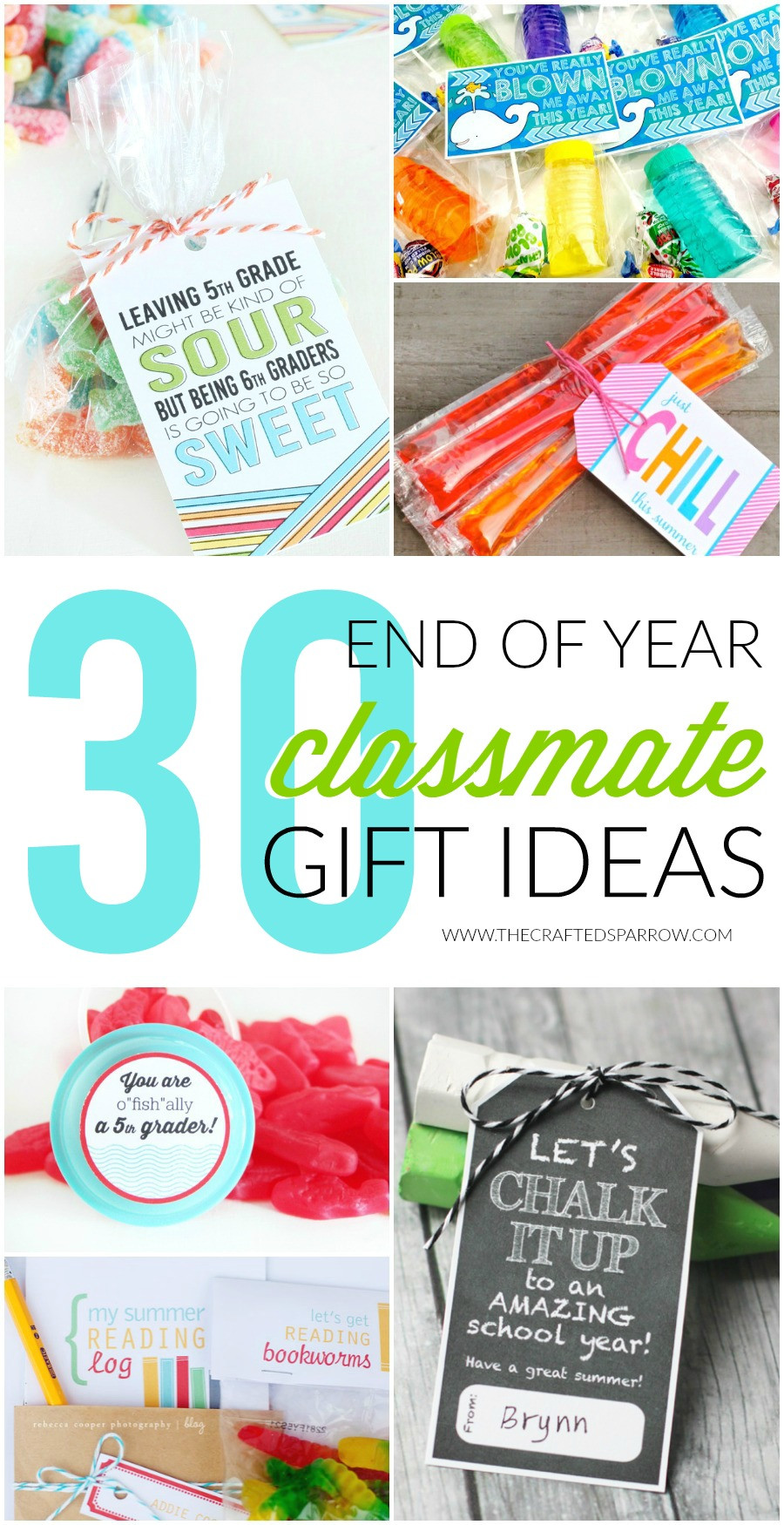 Best ideas about Class Gift Ideas . Save or Pin 30 End of Year Class Gift Ideas Now.