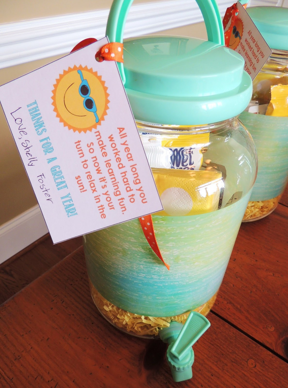 Best ideas about Class Gift Ideas . Save or Pin K the family historian Teacher Gifts & Class Gift Now.
