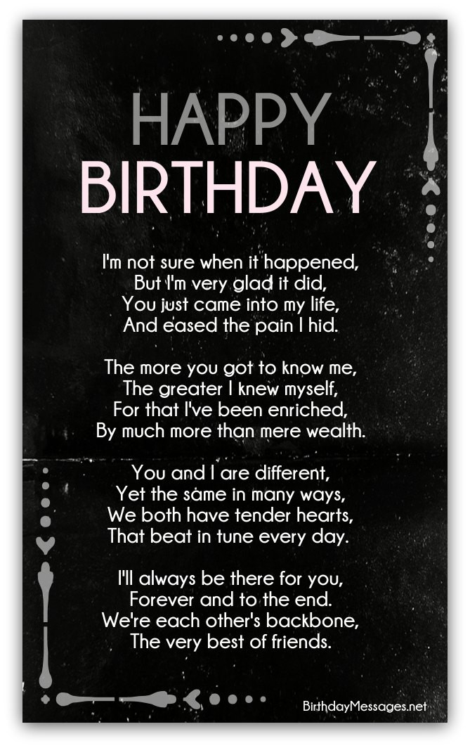 Best ideas about Clever Birthday Wishes . Save or Pin Clever Birthday Poems Page 2 Now.
