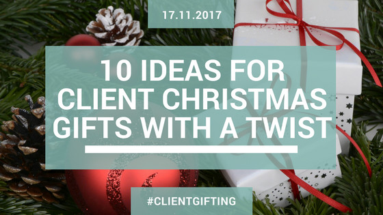 Best ideas about Client Christmas Gift Ideas . Save or Pin Blog 10 Ideas for Client Christmas Gifts With A Twist Now.