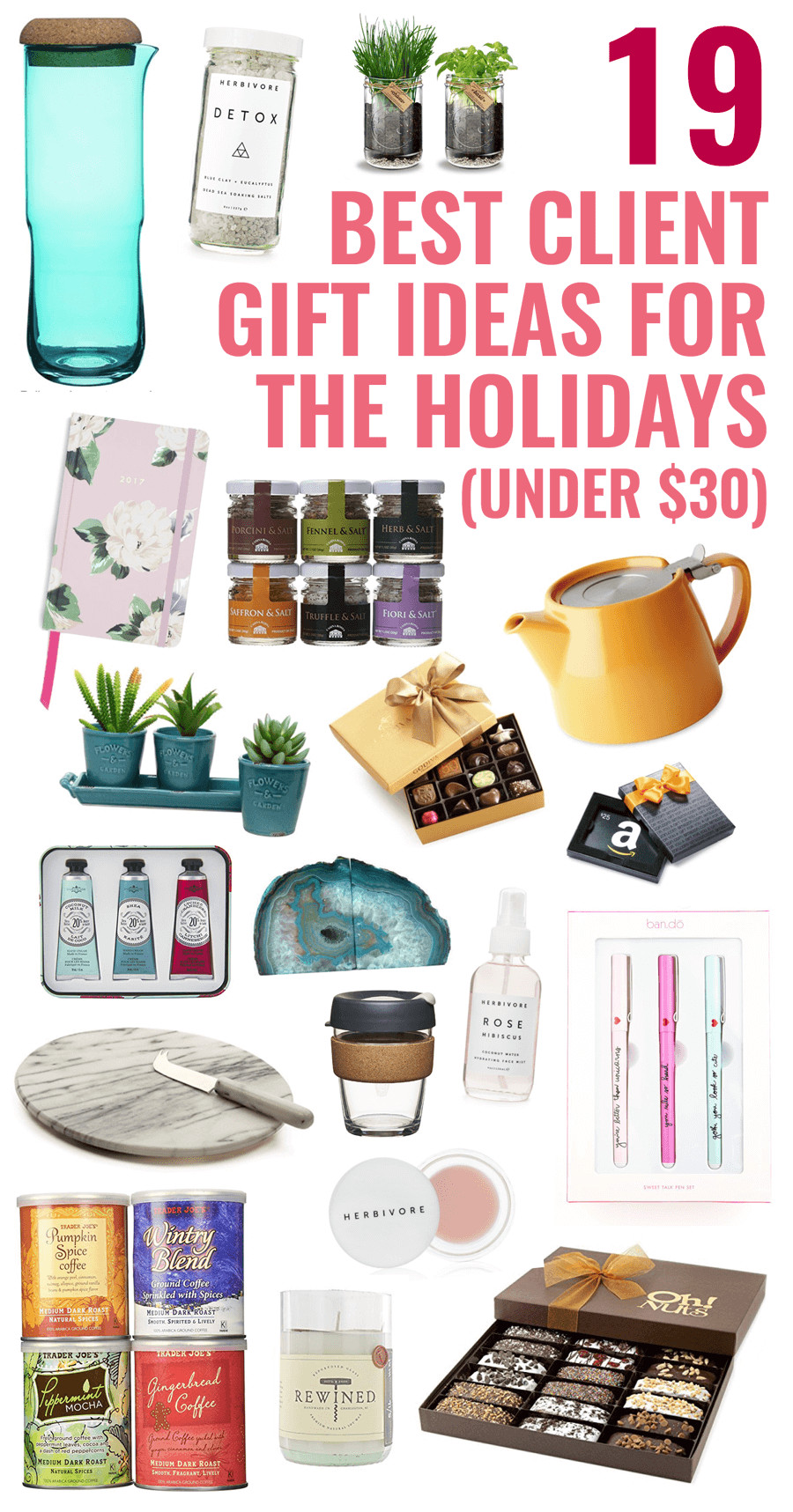 Best ideas about Client Gift Ideas . Save or Pin 19 Best Client Gift Ideas for the Holidays under $30 Now.