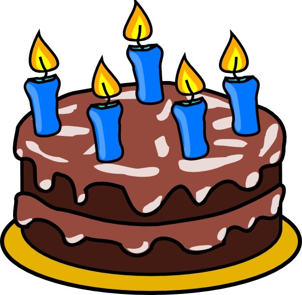 Best ideas about Clip Art Birthday Cake . Save or Pin Birthday Cake clip art Free vector in Open office drawing Now.