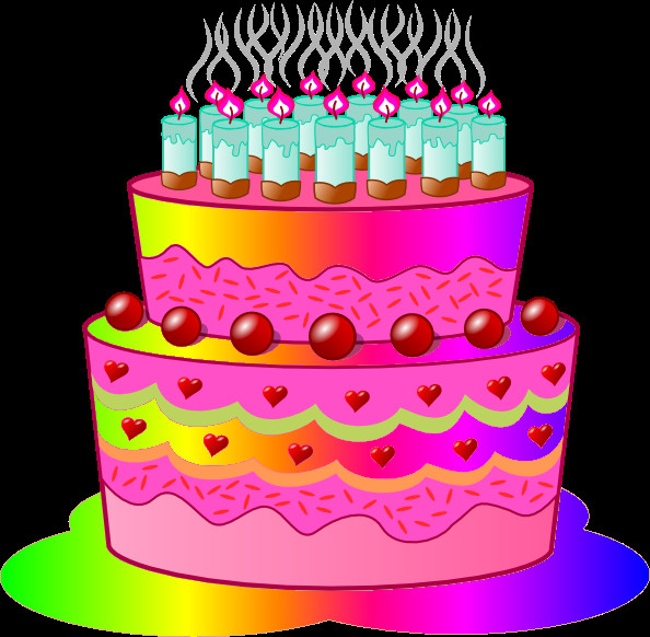 Best ideas about Clip Art Birthday Cake . Save or Pin Birthday Cake C Now.