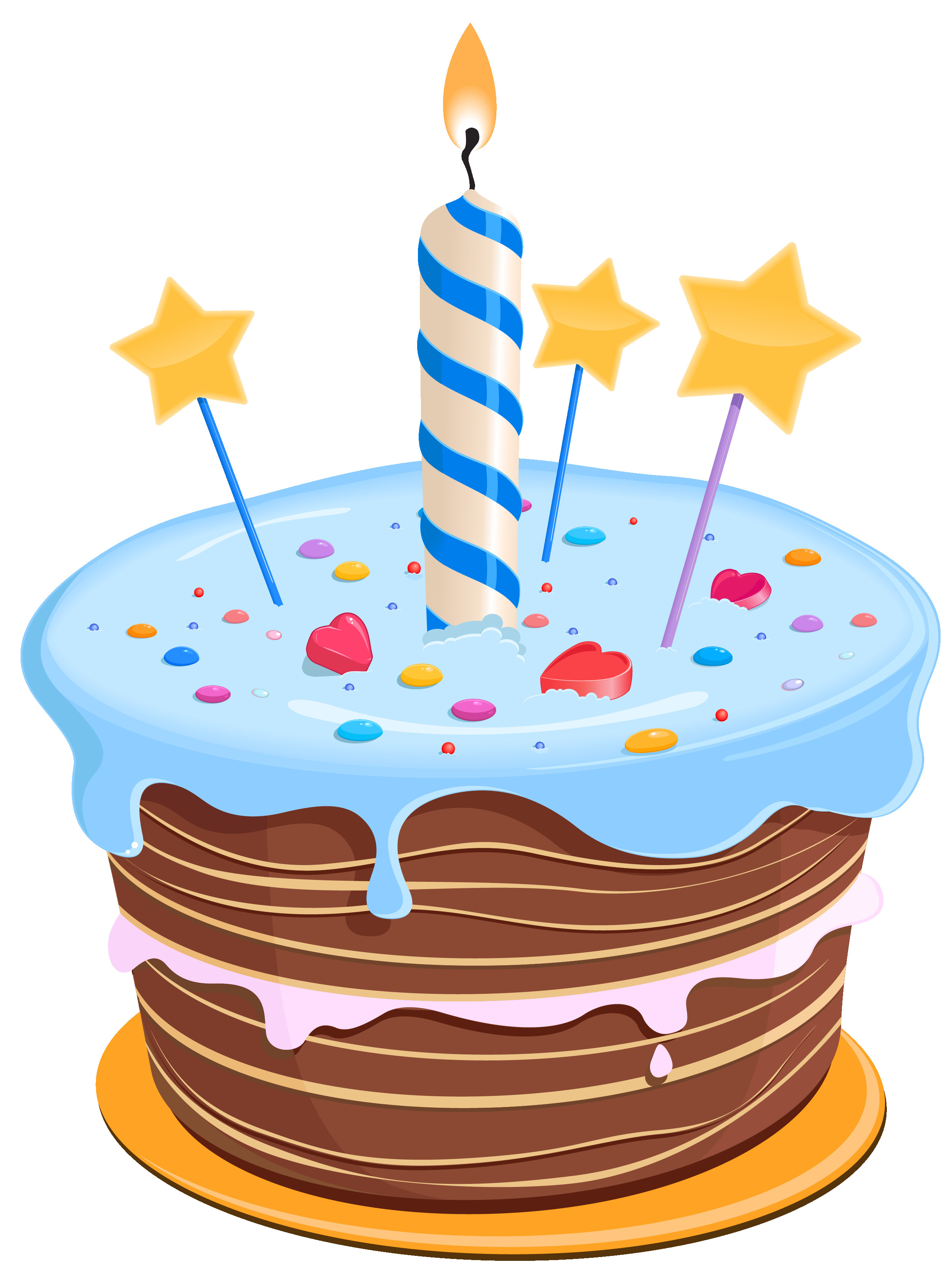 Best ideas about Clip Art Birthday Cake . Save or Pin Set these cute birthday cake clipart as desktop profile in Now.