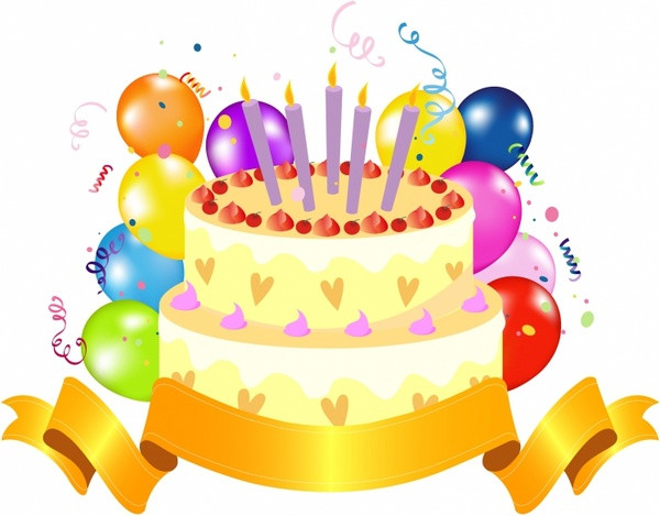 Best ideas about Clip Art Birthday Cake . Save or Pin Happy birthday cake clipart free vector 8 300 Now.
