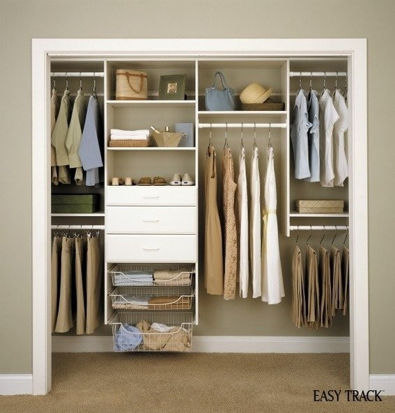 Best ideas about Closet Organizers DIY . Save or Pin 19 Organized Closet Systems to Get Your Space under Now.