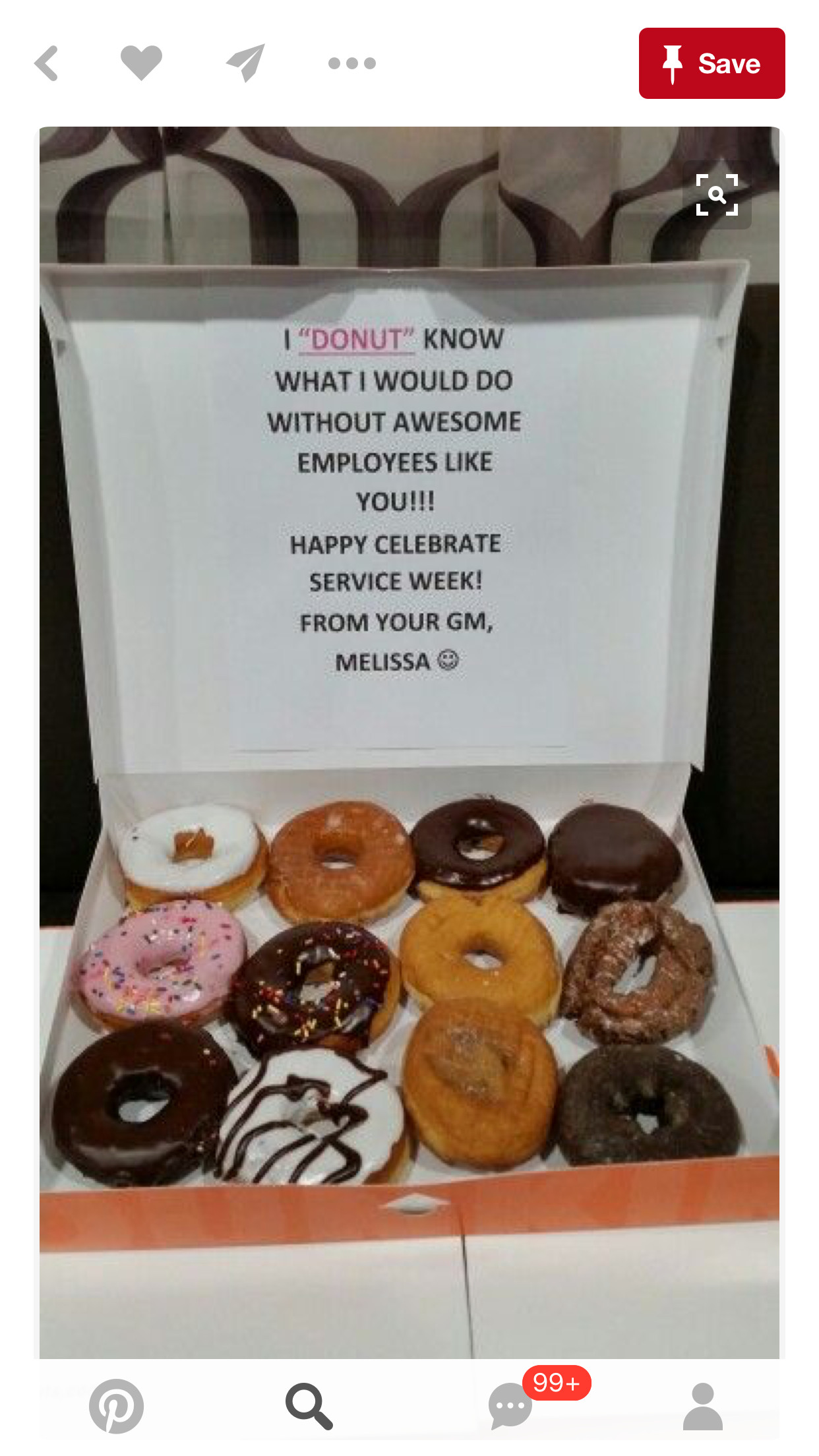 Best ideas about Co Worker Gift Ideas . Save or Pin Treats for co workers Motivational Quotes Now.